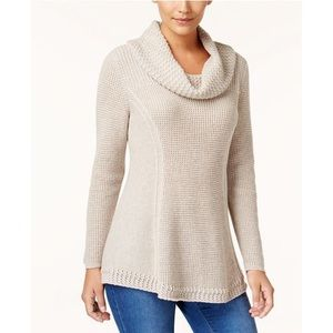 Style & Co Long Sleeve Cowl Neck Sweater size XL